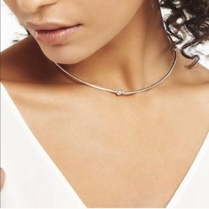 Simple knot collar necklace Stella & Dot
